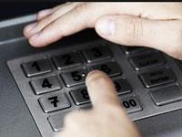 набор кода в банкомате Сбербанка