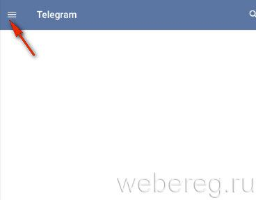 панель Телеграмм