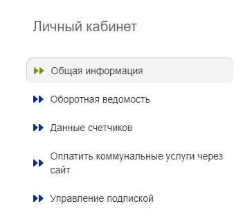 Функционал ЛК